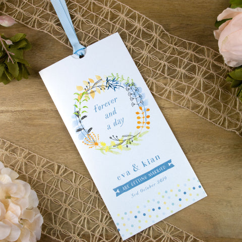 Forever And A Day Wallet Wedding Invitation