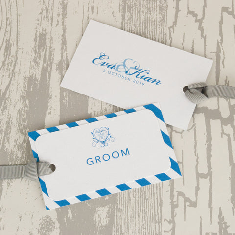 'Happy Ever After' Wedding Place Name Tags