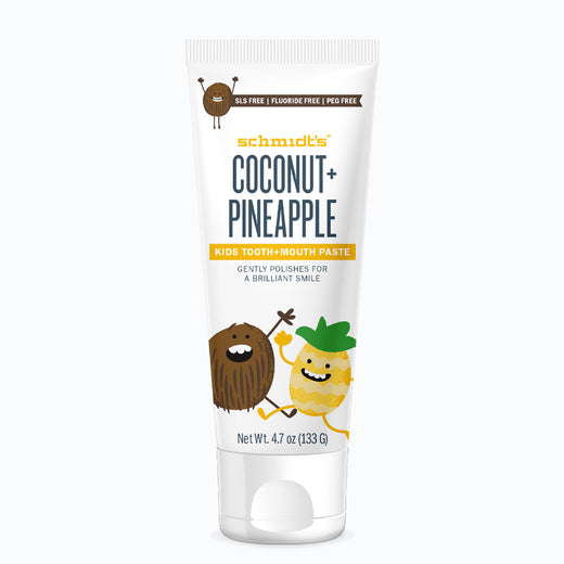 Coconut + Pineapple Kids Tooth+Mouth Paste