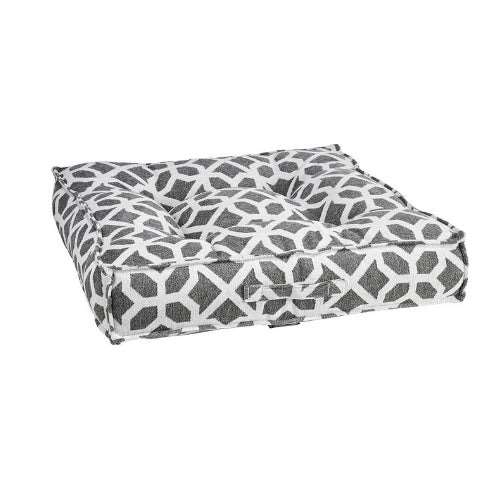 Bowsers Pet Chenille Tufted Square Piazza Nesting Dog Bed — Palazzo