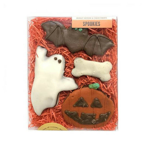 Bubba Rose Biscuit Company Spookies Halloween Dog Organic Cookie Treat