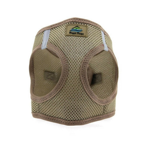 Doggie Design American River Choke Free Dog Harness — Fossil Brown