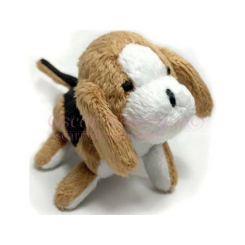 Oscar Newman Pipsqueak Puppy Small Breed Squeaky Dog Toy — Beagle
