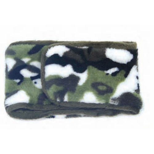 Oscar Newman Camouflage Boy Dog Incontinence Belly Band — Moss