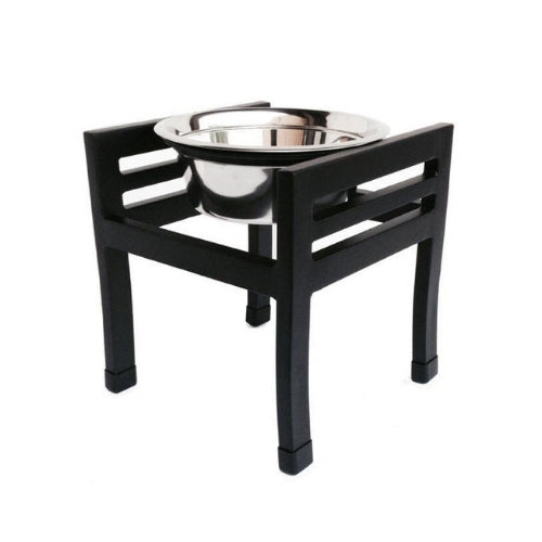 Pets Stop Moretti Single Diner Elevated Dog Feeder Bowl