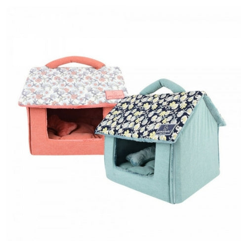 Pinkaholice New York Zinnia House Dog Bed