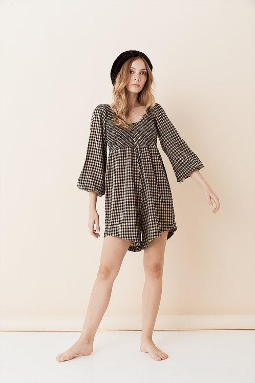 Opia River Playsuit Check