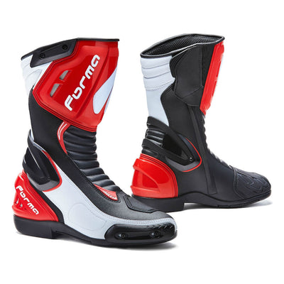 Forma Freccia motorcycle boots, red,