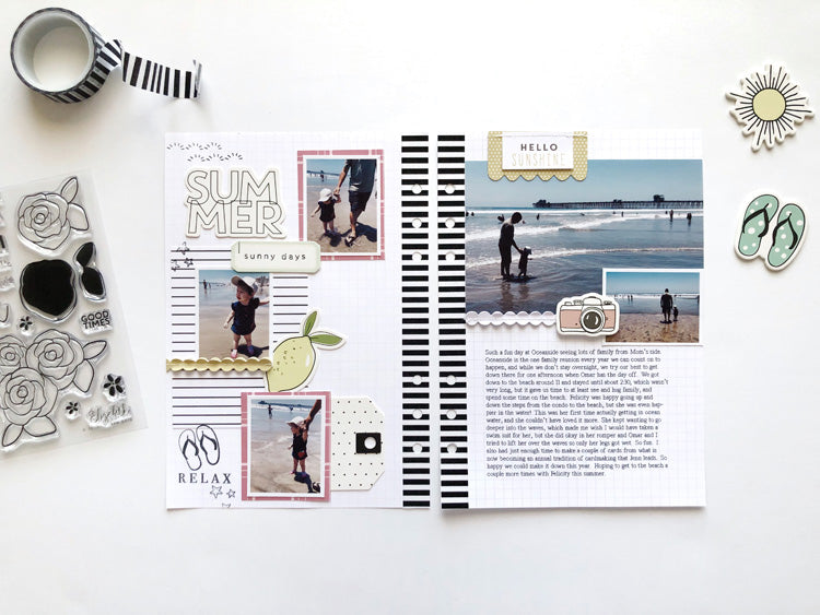 A5 Layout by Sarah Zayas for Felicity Jane