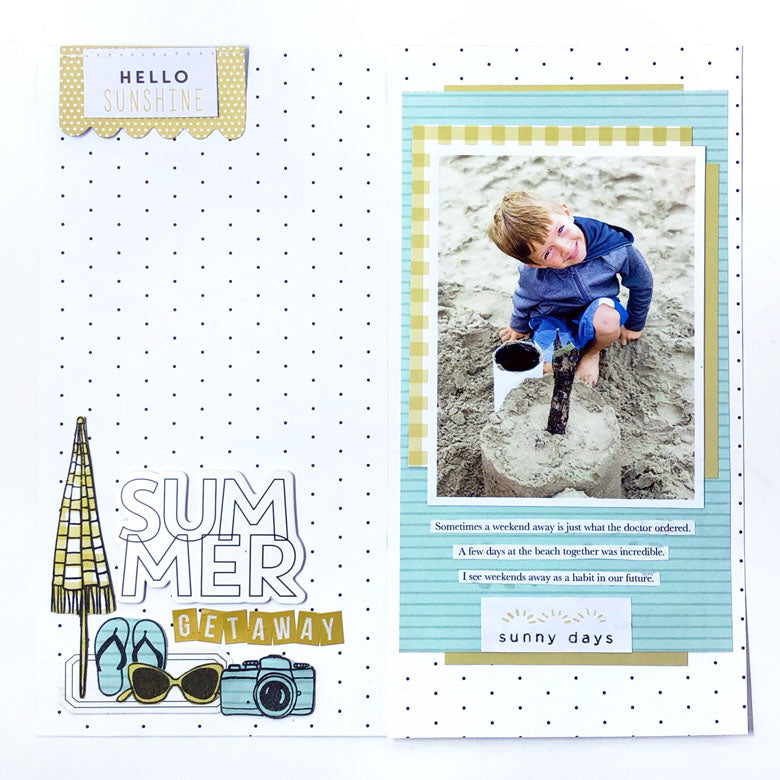 Scrapbook Layout by Lynne Ashcraft for Felicity Jane