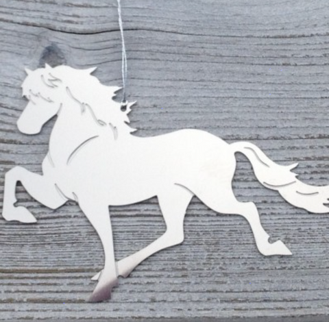 Icelandic Horse Ornament - More sizes