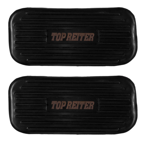 Rubber pads for stirrups