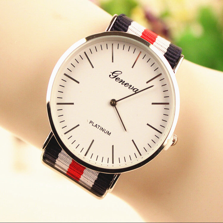 Simple Fashion Colorful Strap Watch - Oh Yours Fashion - 1