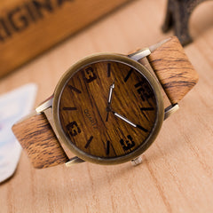 Creativity Wood Grain Watch - Oh Yours Fashion - 1