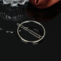 Simple Geometric Metal Ring Hair Clips - Oh Yours Fashion - 4