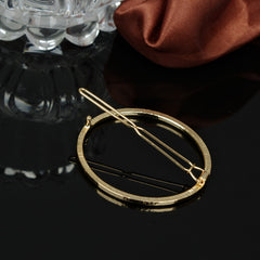 Simple Geometric Metal Ring Hair Clips - Oh Yours Fashion - 6