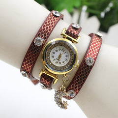 Hot Style Crystal Moon Female Watch - Oh Yours Fashion - 5
