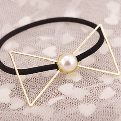 Sweet Pearl Bowknot Women's Hairpin - Oh Yours Fashion - 4