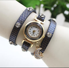 Hot Style Crystal Moon Female Watch - Oh Yours Fashion - 7