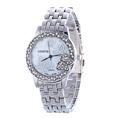 Fashion Butterfly Crystal Alloy Watch - Oh Yours Fashion - 2