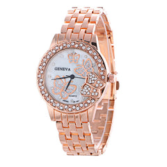 Fashion Butterfly Crystal Alloy Watch - Oh Yours Fashion - 3