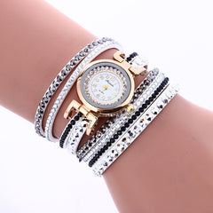 Korean Style Crystal Strap Watch - Oh Yours Fashion - 1