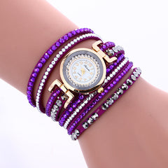 Korean Style Crystal Strap Watch - Oh Yours Fashion - 3