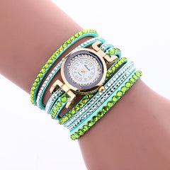 Korean Style Crystal Strap Watch - Oh Yours Fashion - 4