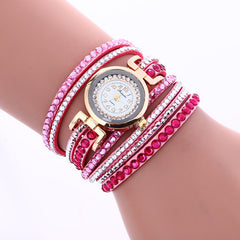 Korean Style Crystal Strap Watch - Oh Yours Fashion - 9
