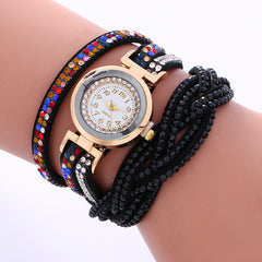 Double Color Twist Colorful Crystal Watch - Oh Yours Fashion - 3