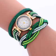 Double Color Twist Colorful Crystal Watch - Oh Yours Fashion - 4