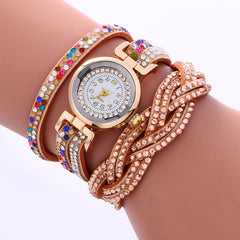 Double Color Twist Colorful Crystal Watch - Oh Yours Fashion - 6