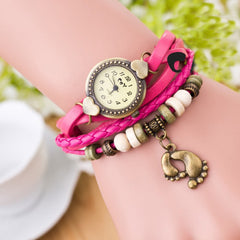 Punk Style Foot Decorate Multilayer Watch - Oh Yours Fashion - 4