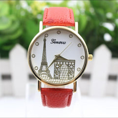 Building Design Print Leather Watch - Oh Yours Fashion - 2