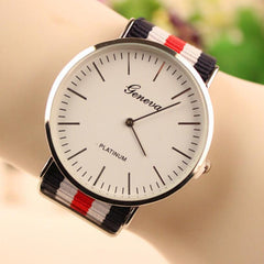 Simple Fashion Colorful Strap Watch - Oh Yours Fashion - 4
