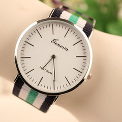 Simple Fashion Colorful Strap Watch - Oh Yours Fashion - 7