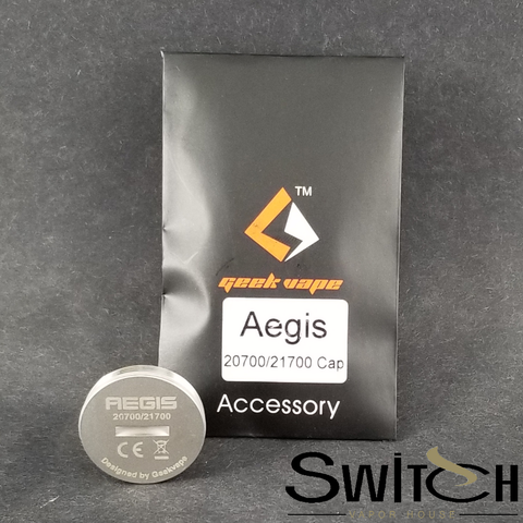 AEGIS BATTERY CAP for 20700/21700 BATTERY by GeekVape