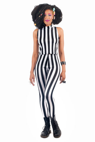 Beetlejuice Turtleneck Crop Top