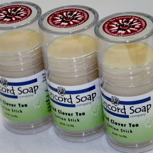 Red Clover Tea Handmade Solid Lotion Stick