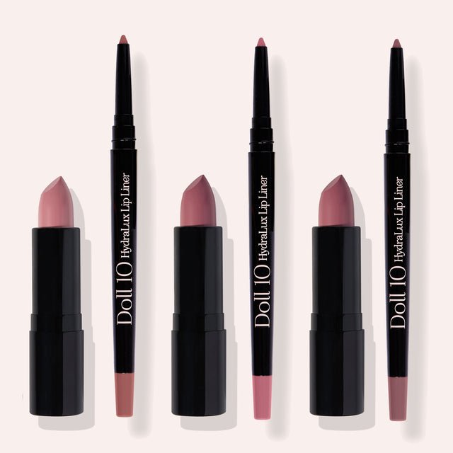 Pamper Your Pout 6-Piece Lip + Liner Collection