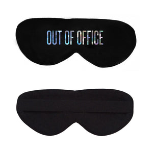Out of Office Cotton Lux Sleep Mask