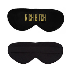 Rich Bitch Cotton Lux Sleep Mask