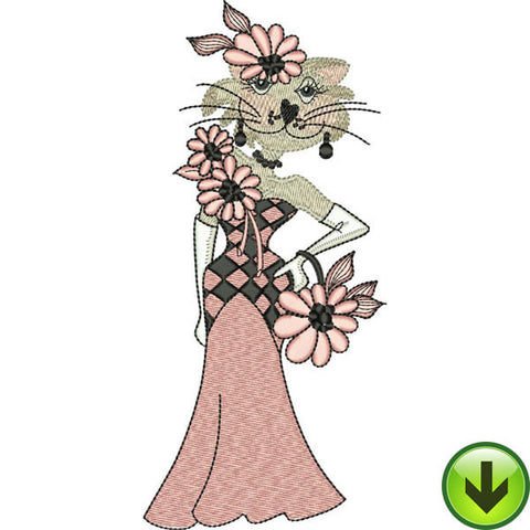 Lady Louise Embroidery Design | DOWNLOAD