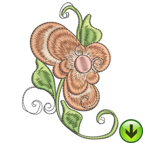 Personal Posie Embroidery Design | DOWNLOAD