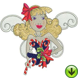 Fairy McCane Embroidery Design | DOWNLOAD