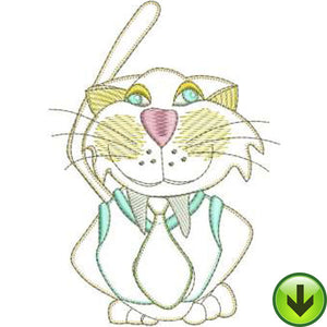 Casper Machine Embroidery Design | Download