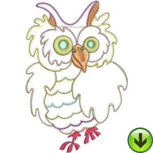 Owlie Machine Embroidery Design | Download