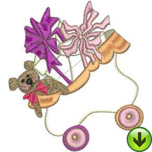 Toy Box Machine Embroidery Design | Download
