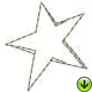 Star Machine Embroidery Design | Download