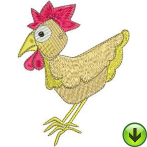 Chick Little Machine Embroidery Design | Download